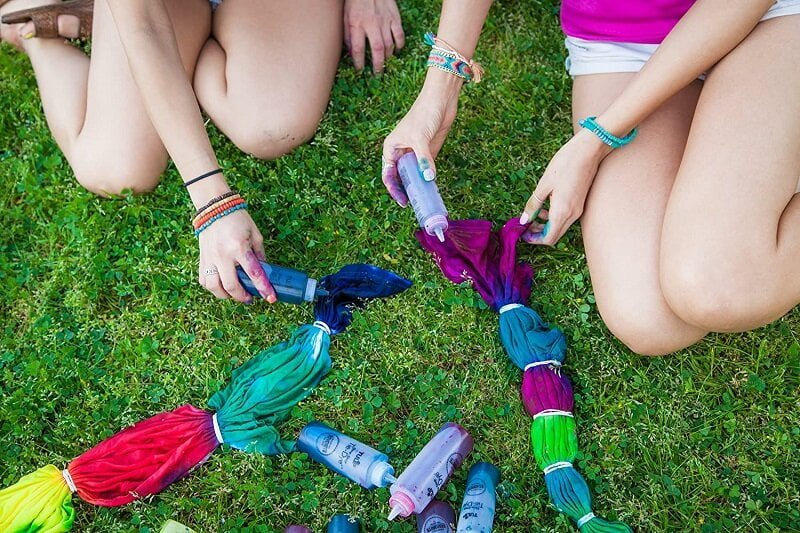 How To Use Tie Dye Kits